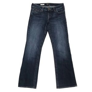 Kut from the Kloth Natalie Dark Wash Flap Jeans